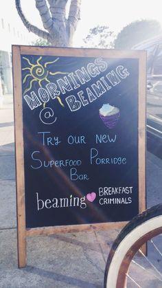 Breakfast Criminals Superfood Porridge Bar Launches At Beaming | Breakfast Criminals