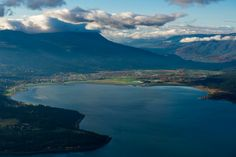 Salmon Arm, BC. This town is situated on an arm (running with fresh-water salmon) of Shuswap Lake; named for the Shuswap/Salish tribes
