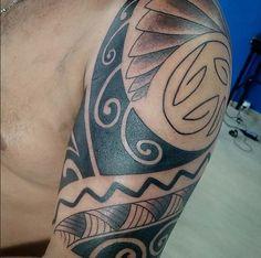 maori tattoo em Rio Preto Ink Tattoo
