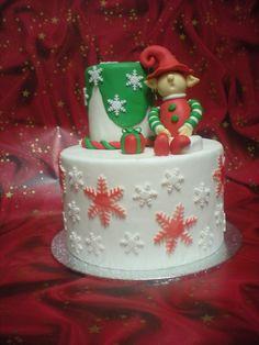 Tarta Navidad Elfo