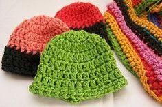 Ravelry: Teresa's 10 Minute Crochet Preemie Hat pattern by Teresa Bowman