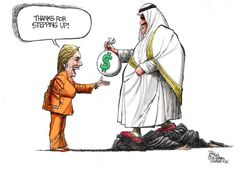 Image result for Clinton AS WHORE CARTOON