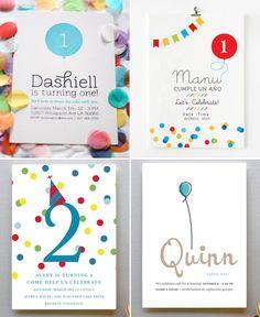 Little Dues: Fiestas de Cumpleaños - Invitaciones de cumpleaños