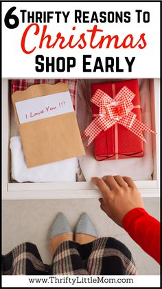 6 Thrifty Reason To Christmas Shop Early This Year.  There are several super thrifty reasons why you shouldn't wait until November to start shopping!