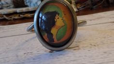 Kiss the Moon Cuff Bracelet by RingAroundRosey on Etsy