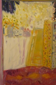 Rose Hilton, 'Summer Morning' oil on linen 71 x Writers And Poets, 2 Colours, Lovely Things, Sculpture Art, Still Life, Florals, Projects To Try, Arts And Crafts, Artsy