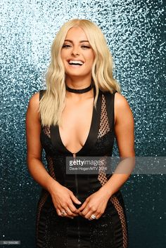 Bebe Rexha attends the MTV Europe Music Awards 2016 on November 6, 2016 in Rotterdam, Netherlands.