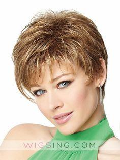 Short Asymmetrical Cut Lace Front Wig