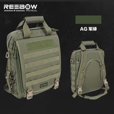 1000D Laptop Backpack Tactical MOLLE System Waterproof Nylon Fabric Bag 12-15'' PC Military Outdoor Sports