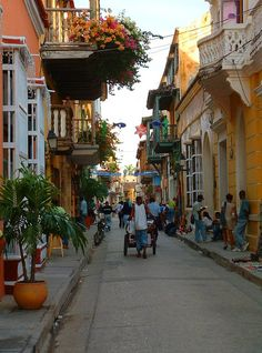 Cartagena, Colombia I walked these streeta
