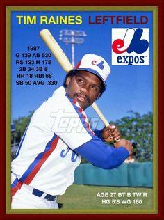 Expos Baseball, Baseball Photos, Baseball Cards, Major League Baseball Teams, Of Montreal, Sports Figures, National League, Chicago White Sox, Athlete