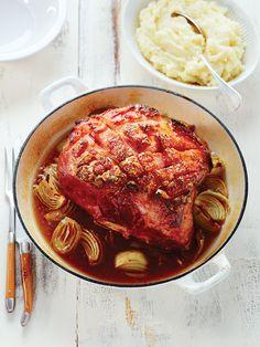 Pin on Noel Brunch, Confort Food, Food Crush, Pork Recipes, Bon Appetit, Carne, Crockpot, Main Dishes, Good Food