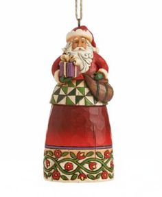 Jim Shore Santa Ornament