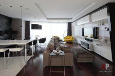 Фото интерьера гостиной квартиры в стиле минимализм