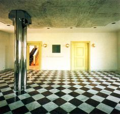 Hans Hollein, Carl Friedrich von Siemens Foundation, Reception Hall, Nymphenburg, 1970-1972