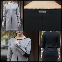 dress 'Zam-Szyk' collection 2012/13 available on Allegro ! http://allegro.pl/tunika-sukienka-zam-szyk-r-36-44-k-szary-czarny-i2640491987.html