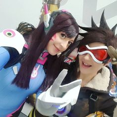 I can't wait to have a photoset of this costume! #d.va #overwatch #overwatchallstars #tracer  http://ift.tt/1JmSN0u