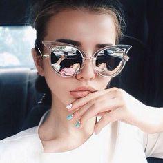 Image de girl, fashion, and sunglasses