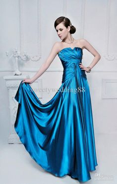 Wholesale Prom Dresses - Buy A-line Sweetheart Ball Gown Satin Evening/Prom Dresses Free Gloves Free Tiara 2013 Buy 1 Get 2, $113.64 | DHgate
