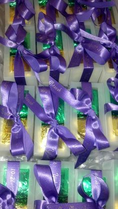 Bring us your ribbon, and we'll customize your box of #Cubze! #weddingfavors #partyfavors
