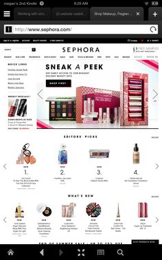 Images! Navigation Page id Site id  Logo http://www.sephora.com/