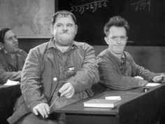 Afbeeldingsresultaat voor laurel and hardy old Classic Comedy Movies, Comedy Actors, Comedy Duos, Classic Comedies, Laurel And Hardy, Stan Laurel Oliver Hardy, Silent Film Stars, Movie Stars, Great Comedies