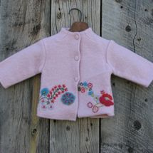Embroidery Wool Jacket