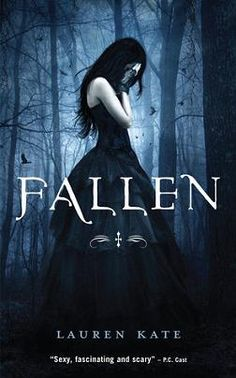 Fallen Series The cover is gorgeous! A great first book but the more the series went on it didn't have the same effect