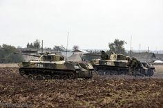 BMD-2 covered the paratroopers  - Tactical exercises of 137th Guards Airborne Regiment