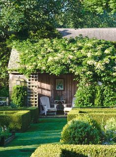 20 garden gazebo design concepts make the garden unique - Garten - Tipos de Jardim Unique Gardens, Beautiful Gardens, Garden Cottage, Home And Garden, Garden Gazebo, Fence Garden, Garden Sofa, Terrace Garden, Easy Garden