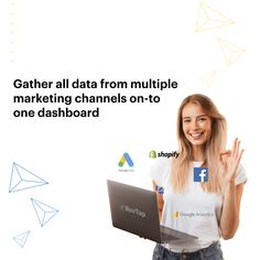 Do you end up switching between apps and platforms to analyze if your Shopify store is growing? Check out tools like RevTap.ai they help you track, aggregate and visualize the key indicators of success for your store and gives you actionable insights to increase sales. Install now for FREE! #shopifyhacks #ecommercegrowth #ecommercetips #shopifytips #shopifyexperts #ecommerceexperts #customeranalytics #ecommerceanalytics #shopifyanalytics # Set Up Google Analytics, Analytics Dashboard, Marketing Automation, Marketing Data, Customer Behaviour, Know Your Customer, Marketing Channel, Increase Sales, Business Intelligence