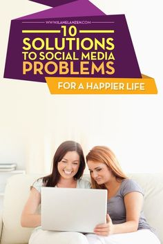 Social Media Problems | The world is a different place now that social media is present. There are some good aspects to it. For instance, you can instantly see how people are reacting to a big event or you can connect to a positive community that promotes