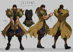 TVアニメ『戦国BASARA Judge End』から長曾我部元親や毛利元就、前田慶次など8人のキャラクター設定画が公開!