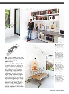 A Bigfoot Door project was just featured in Toronto Life Magazine. Cool architecture and innovative solutions.