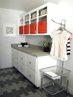 A Stylish, Organized Laundry Room Is Possible