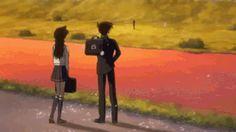 Detective Conan .gif Ran And Shinichi, Kudo Shinichi, Conan, Detective, Kaito Kid, Romance, Silver Bullet, Magic Kaito, Case Closed