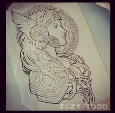 Tattoo Mujer Guerrera 39+ Ideas #tattoo