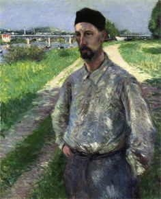 Portrait of Eugene Lamy by Gustave Caillebotte (1889, private collection)