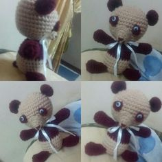#handmade #crochet #ola_crochet #knitting #كروشيه #مصر #تريكو #made_in_egypt #alize #هاند_ميد #اشغال_يدويه Teddy Bear, Toys, Animals, Animais, Animales, Animaux, Toy, Animal, Games
