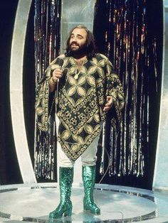 Demis Roussos. I remember him appearing on The Don Lane Show. Man, those are some funky threads!