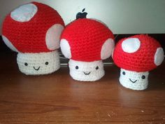 The Mushroom Family w/ personalization by LittleDebiSnack on Etsy, $25.00