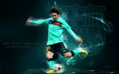 Creative Lionel Messi Hd Wallpaper