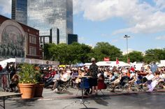 Summer Concerts in Sundance Square Downtown Fort Worth