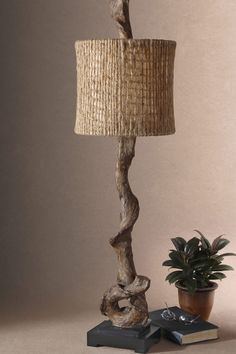 Driftwood Buffet Lamp