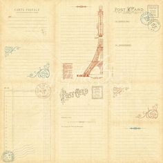 Cityscapes Journaling & Ephemera Cards Vertical - Back #graphic45 #Sneakpeeks