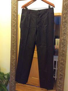 DOLCE&GABBANA women's pants, Size: 12 US/ 48 IT, Made in Italy, 100% virgin wool #DolceGabbana #DressPants #D&G #Dolce&Gabbana