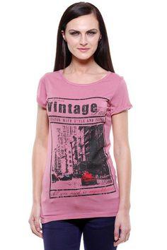 Fashion My Day : Vintage Round Neck Ladies Top