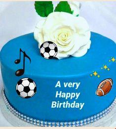 Sports Birthday Greeting – wanaabeehere Sports Birthday, Very Happy Birthday, Birthday Greetings, Baking, Cake, Desserts, Food, Bread Making, Pie Cake