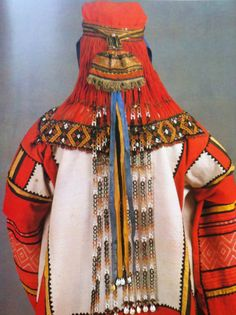 Young woman clothes.  Mid - end of the 19th century. Tambow province
