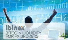 Bitcoin Liquidity for FX Brokers - Read more: http://www.datsyn.com/press-release/1...  Ibinex (-the Intelligent Bitcoin Exchange-) is announcing a January 1st 2015 launch of its crypto-bridge ECN service to Forex brokers and institutions